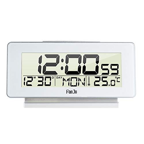 Home Decor Chicken Meters Wound-up Bell Mechanical Alarm Clock Copper Control Led Display Electronic Desktop Digital Table Clock Easy To Lubricate