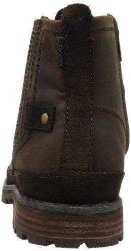Cat Footwear RIVINGSTON - Botines chelsea de cuero hombre marrón - Braun (MENS DARK BROWN)