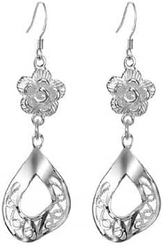 Aegean Jewelry Titanium Lady's Charming Drop Earring with a Gift Box and a Free Small Gift