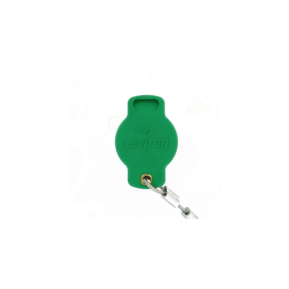 Leviton 16P22 G 16 Series Female, Protective Cap, Commercial Grade, Cam Type Connector, Green