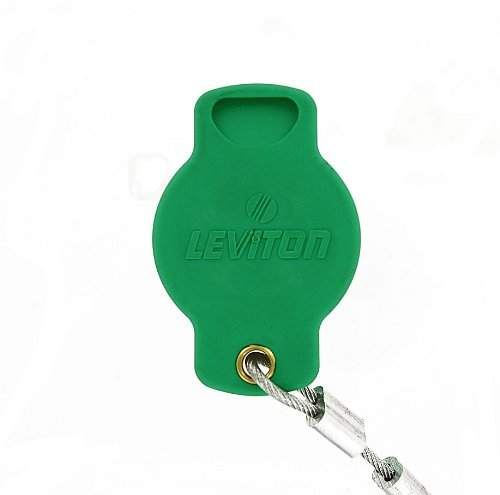 Leviton Cam Connectors - Leviton 16P22-G 16 Series Female, Protective Cap, Commercial Grade, Cam-Type Connector, Green