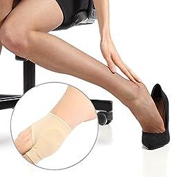 Gel Pad Bunion Relief Sleeves by Coyom | Bunion Correctors & Protector & Toe Straightener