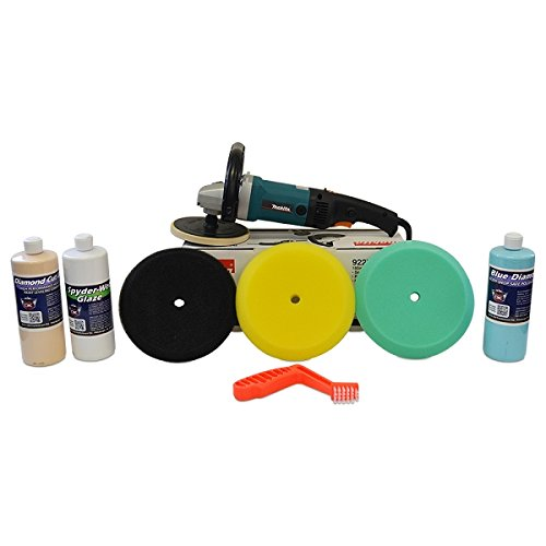 "Makita Rotary Polisher 9237C ""Swirl & Oxidation Remover"" Value Package - Single Sided"