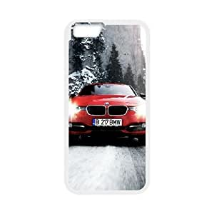 BMW iPhone 6 Plus 5.5 Inch Cell Phone Case White Cnwl