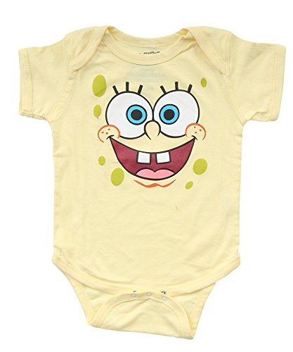 Spongebob Big Face Infant Romper Bodysui - Spongebob Squarepants Clothes Shopping Results