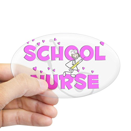 CafePress Nurse Sticker Bumper Decal