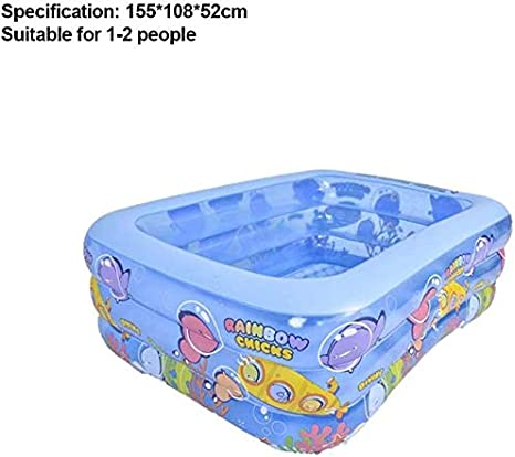 GZCC Piscina Inflable,Piscina Infantil para niños,Piscina Infantil de Verano para Fiestas acuáticas,Piscina de Juegos inflables Resistentes al Desgaste