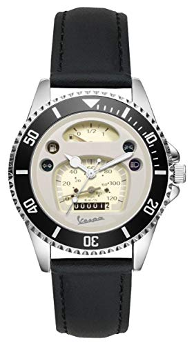 Gift for Vespa Motorcycle Fans Driver Kiesenberg Watch L-20494 - Mens Watch Driver