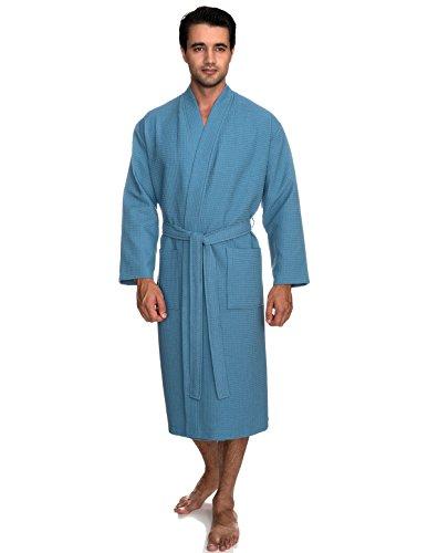 TowelSelections Kimono Waffle Bathrobe Turkey