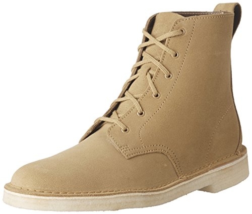 Clarks  Men's Desert Mali Boot Dark Ochre Suede 10 D US