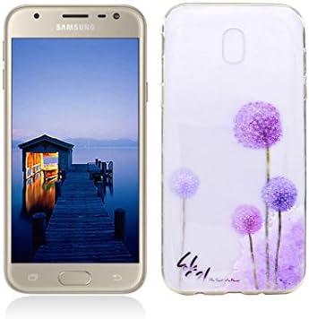 Funda Samsung Galaxy J3 2017 SM-J330F Carcasa Protectora OuDu Funda para Samsung Galaxy J3 2017 SM-J330F Caso Silicona TPU Funda Suave Soft Silicone ...