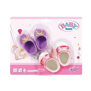 Zapf Creation 822159 - Baby Born, Schuhe, Farblich sortiert