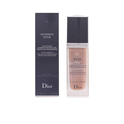 Diorskin Foundation (Diorskin Star Studio Makeup Spectacular Brightening SPF 30 - # 040 Honey Beige by Christian Dior for Women - 1 oz Foundation)