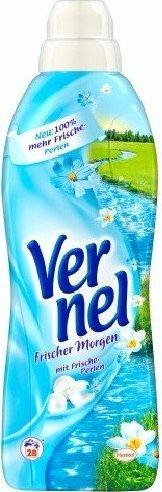 Vernel Fresh Morning Liquid Fabric Softener, long-lasting fresh feeling, 33 loads, 33.8 Fluid Ounce (Bottle of 2)
