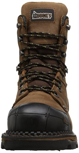 Mid Brown Men's Calf Rocky Dark RKS0323 Boot FxCAqwZH4n
