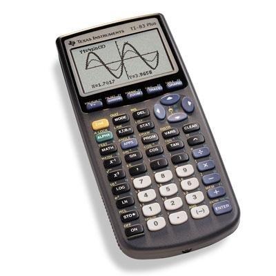 TI-83 Plus Graphics Calculator TI-83 Plus Graphics Calculator