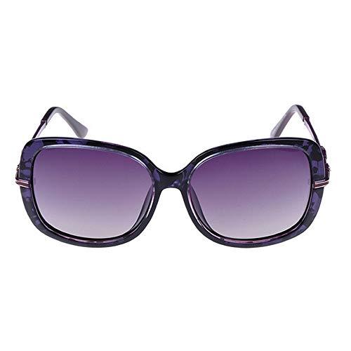 conduisant Vacances Lunettes d'été de Couleur Cristal Les Peggy Soleil en Violet des Rouge gracieuses de Femmes Gu Plage de UV400 RqgOpwP