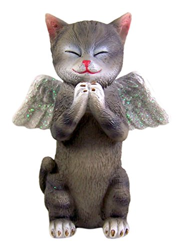 Kitten Angel Figurine 5 Inch