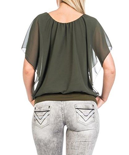 Muse - Camiseta sin mangas - para mujer caqui