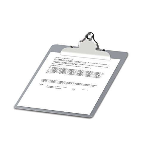 Metal Clipboard Paper Holder Letter Size-Highest Quality File A4 Aluminum Holder for Office Business Steel clipboard by SUNNYCLIP (Image #4)'
