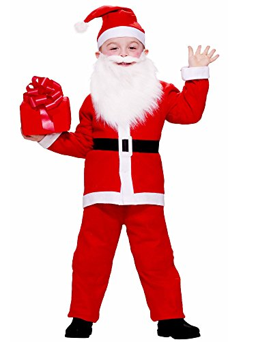 Child Santa Claus Costumes (Forum Novelties Simply Santa Child Costume)