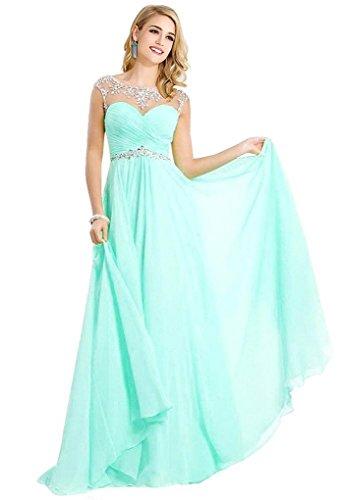 aqua dresses for prom - 4