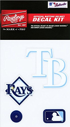 Rawlings Sporting Goods MLBDC Decal Kit, Tampa Bay Rays