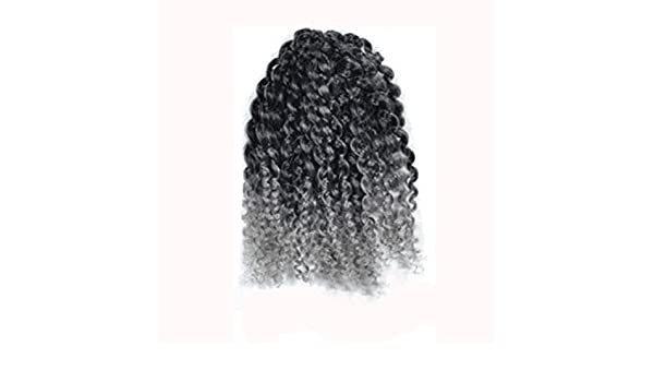 Amazon.com: Huphoon Mixed Color Twist Braids Small Wavy Wigs Extensions Synthetic Hair for Women (b): Office Products
