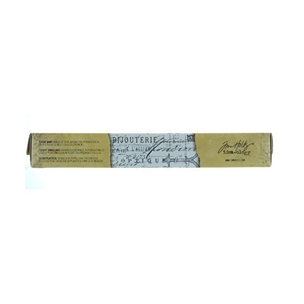 Tim Holtz Idea-ology Melange Tissue Wrap, Decorative Craft Paper, 1- 12 Inch Wide Roll, 15 Feet per Roll, TH93042 4