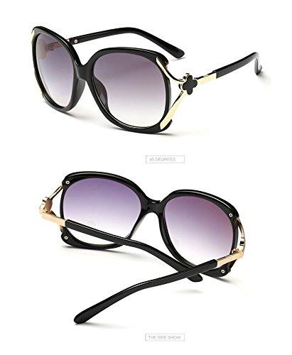 Tocoss (TM) Nouveaux Mode Lunettes Lunettes de soleil polarisées Femme Marque UV400Lunettes de soleil Marque Croix Logo Oculos Gafas de sol féminin, beige
