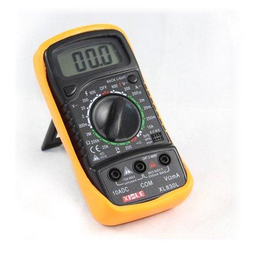 Digital Volt Ohmmeter : Toogoo lcd digital ohm volt meter ac dc voltmeter
