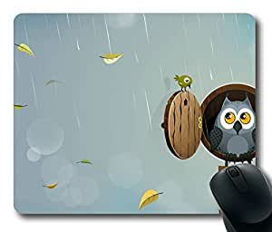 Autumn Owl POP Masterpiece Limited Design Oblong Mouse Pad by Cases & Mousepads by mcsharks