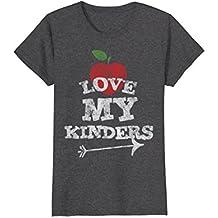 Love My Kinders Cute Kindergarten Teacher Distressed T-Shirt
