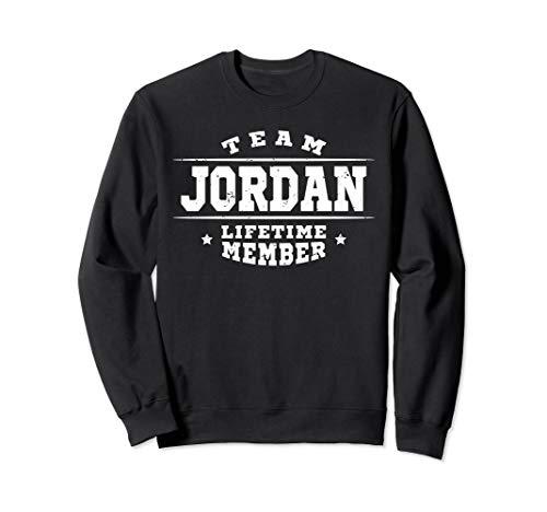 Team Jordan Lifetime Member Gift Shirt Proud Family Surname Sweatshirt ()
