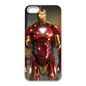Iron Man iPhone 5 5s Cell Phone Case White O4497245