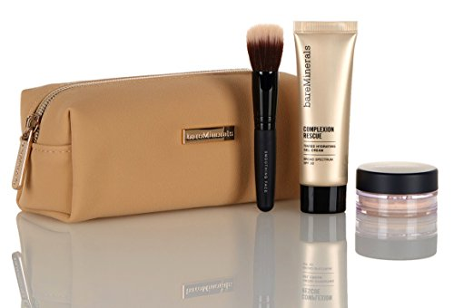 bareMinerals Meet Complexion Rescue Foundation Kit 3-Piece Plus Bag (Buttercream 03)
