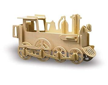 Pebaro - Maqueta madera locomotora: Amazon.es: Electrónica
