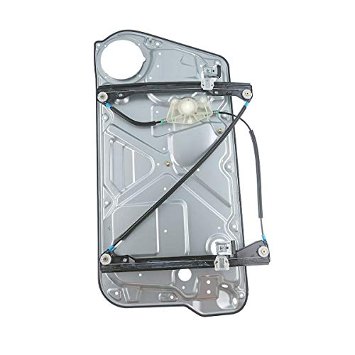 Front Left Driver Side Power Window Regulator and Interior Door Panel without Motor for Volkswagen Beetle 1998-2010 Hatchback