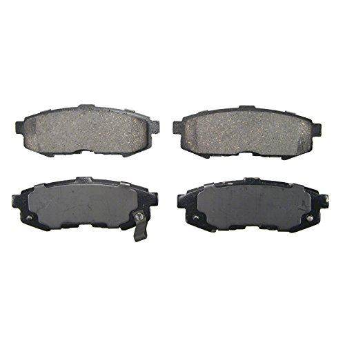 Wagner QuickStop ZD1073 Ceramic Disc Pad Set, Rear