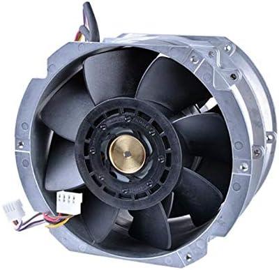 zyvpee 9CR5748P9G003 - Armadietto per Server da 48 V, 5,5 A, Struttura in Alluminio, Doppia Foglia, pressurizzazione violente, dissipazione del Calore, Doppia Ventola