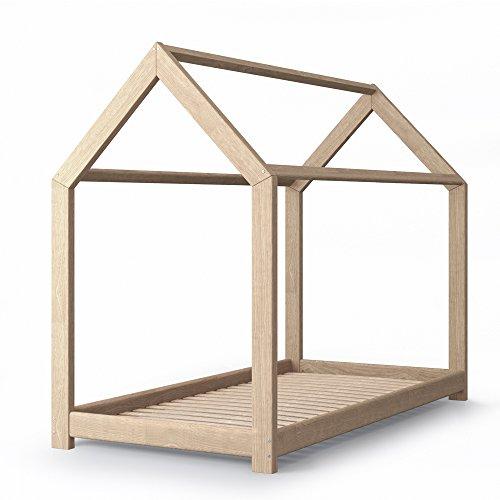 Kinderbett haus  Kinderbett Kinderhaus Bett Kinder Holz Haus Schlafen Spielbett ...