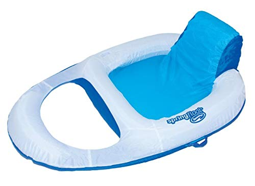 SwimWays Spring Float Recliner Floating Pool Lounge Chair (3-Pack) | 13018 by SwimWays (Image #5)