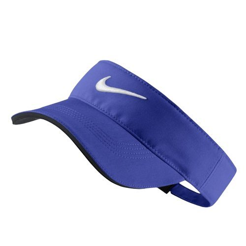 NIKE Unisex Tech Visor, Paramount Blue/Anthracite/White, One Size (Sun Visor Cap Sports)