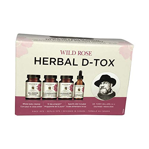 Wild Rose Herbal D-Tox Program, 1 Count for sale  Delivered anywhere in Canada