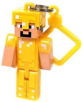 Minecraft Hangers serie 2 dorado Armor Steve 3