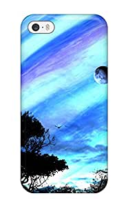 Hot 9821755K48499048 New Fashion Premium Tpu Case Cover For Iphone 5/5s - Planet Fall