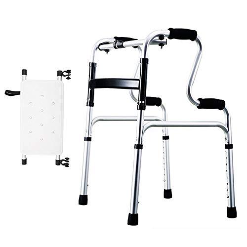 Walkers Chunlan Lightweight Hi-Riser Walking Frame - Folding Adjustable Height - 4 Styles (Color : C)