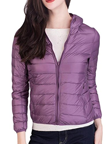 Coats Warm Down Light Women's Ultra amp;W Hoodies reversible Puffer 5 M amp;S Packable qfHvRw