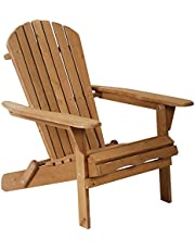 Folding Adirondack Chair Patio Chairs Outdoor Chairs Lawn Chair Patio Furniture Weather Resistant for Patio