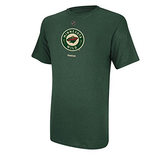 (NHL Minnesota Wild Primary Logo T-Shirt, X-Large,Dark Green)